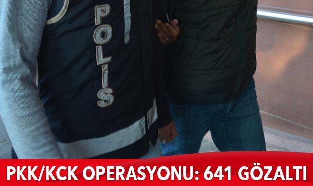 42 ilde PKK/KCK operasyonu: 641 gözaltı