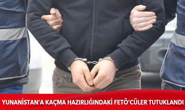 Edirne'de yurt dışına kaçma hazırlığındayken yakalanan 6 FETÖ zanlısı tutuklandı