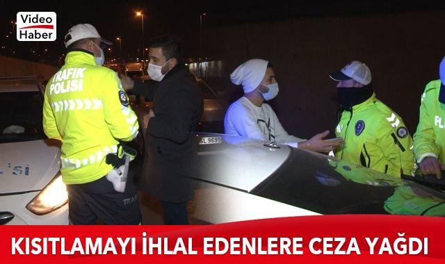 İstanbul'da gece sokağa çıkma kısıtlamasını ihlal edenlere ceza yağdı