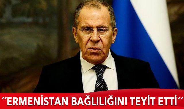 Lavrov: Sarkisyan ve Paşinyan anlaşmaya bağlılıklarını teyit etti
