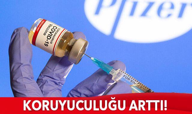 Pfizer ile BioNTech'in koronavirüs aşısında yeni gelişme!