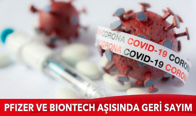 Pfizer ve BioNTech, Kovid-19 aşısı için FDA'ya resmi başvuru yaptı