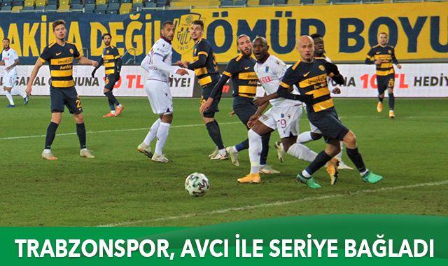 Trabzonspor deplasmanda 3 puanı aldı