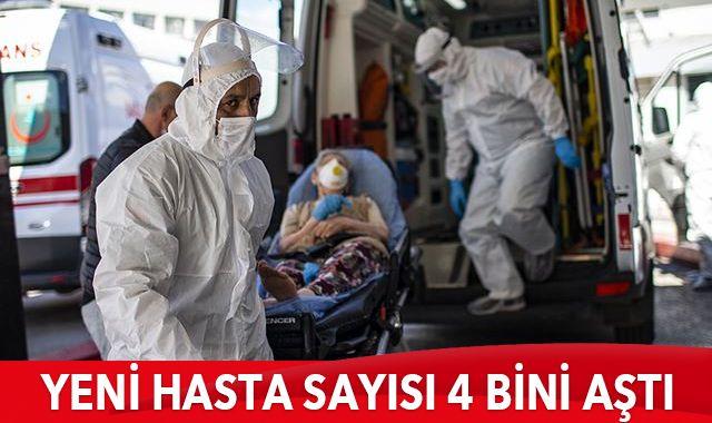 Türkiye'de koronavirüste son durum: 4215 yeni hasta, 116 can kaybı