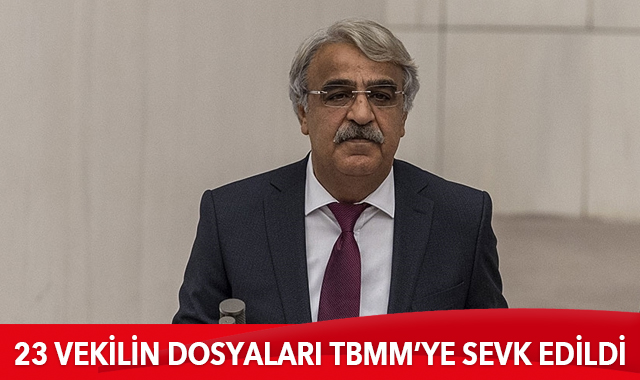 23 milletvekilinin dokunulmazlık dosyaları TBMM'ye sevk edildi