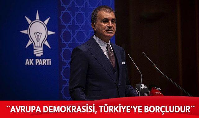 AK Parti Sözcüsü Çelik'ten kritik toplantı sonrası önemli açıklamalar