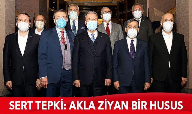 Bakan Akar ve Genelkurmay Başkanı Güler'den net mesaj