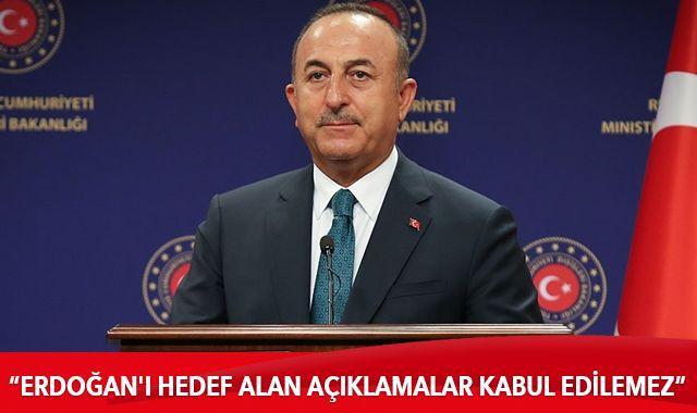 Bakanı Çavuşoğlu, İranlı mevkidaşıyla görüştü