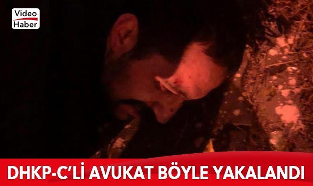DHKP-C'li avukat Aytaç Ünsal'ın yakalanma görüntüleri