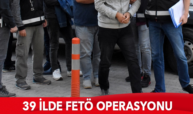 İzmir merkezli 39 ilde FETÖ'nün TSK yapılanmasına operasyon