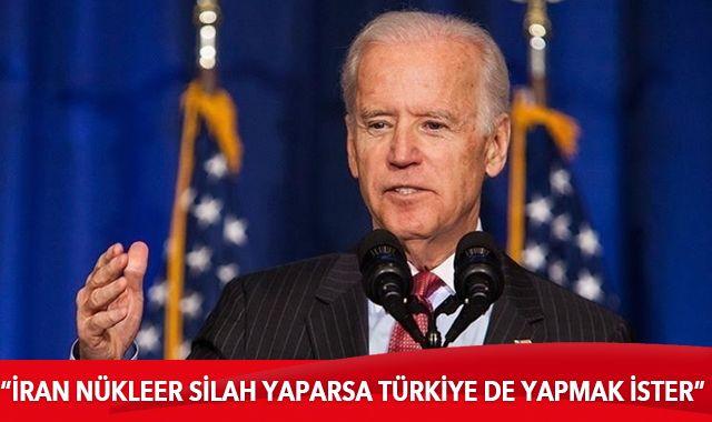Joe Biden'dan dikkat çeken Türkiye açıklaması