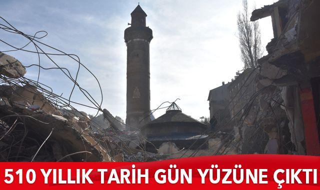 Metruk bina yıkılınca 510 yıllık tarihi eser gün yüzüne çıktı