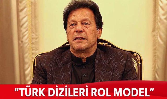 """Pakistan Başbakanı Han: """"Türk dizileri iyi rol modeller sağlamak amacıyla yayımlanıyor"""""""