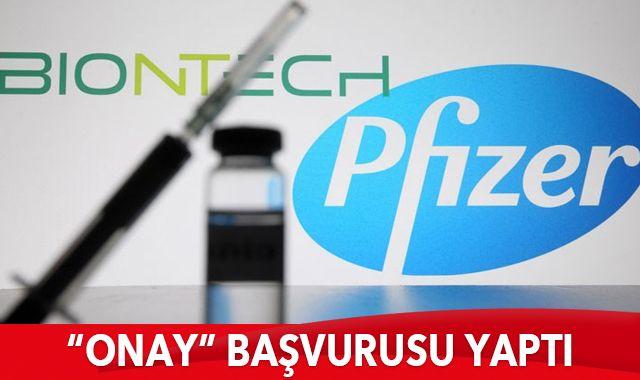 Pfizer/BioNtech koronavirüs aşısının onayı için Avrupa İlaç Kurumu'na başvurdu