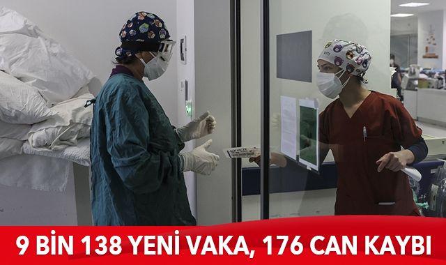 10 Ocak 2021 koronavirüs tablosu: 9 bin 138 yeni vaka, 176 can kaybı