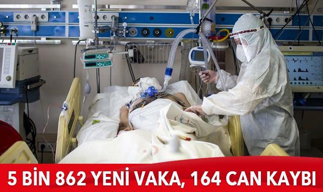 18 Ocak 2021 koronavirüs tablosu: 5 bin 862 yeni vaka, 164 can kaybı