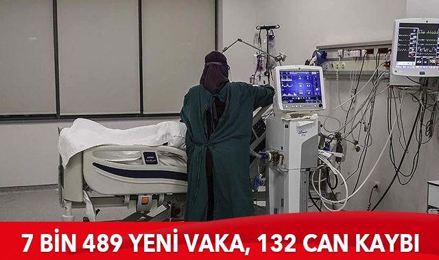 27 Ocak 2021 koronavirüs tablosu: 7 bin 489 yeni vaka, 132 can kaybı