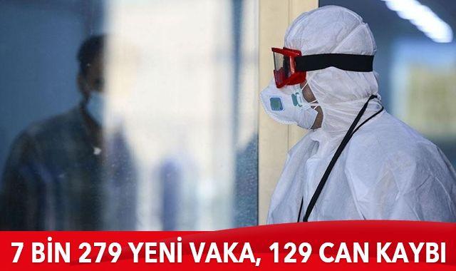 28 Ocak 2021 koronavirüs tablosu: 7 bin 279 yeni vaka, 129 can kaybı