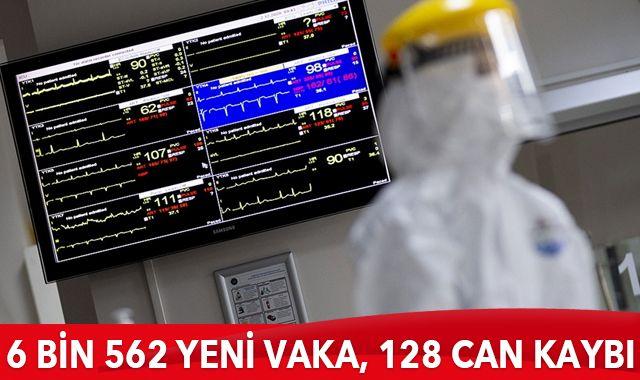 31 Ocak 2021 koronavirüs tablosu: 6 bin 562 yeni vaka, 128 can kaybı