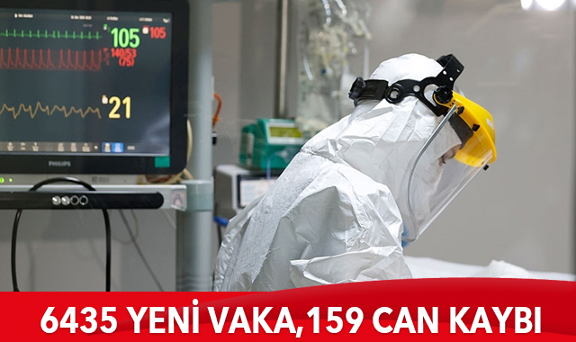 6435 yeni vaka, 159 can kaybı