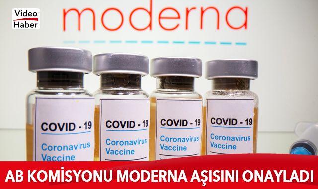 AB Komisyonu, Moderna'nın Kovid-19 aşısına onay verdi