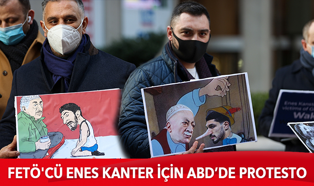 ABD'li Türklerden FETÖ'cü Enes Kanter için Wall Street Journal'a protesto