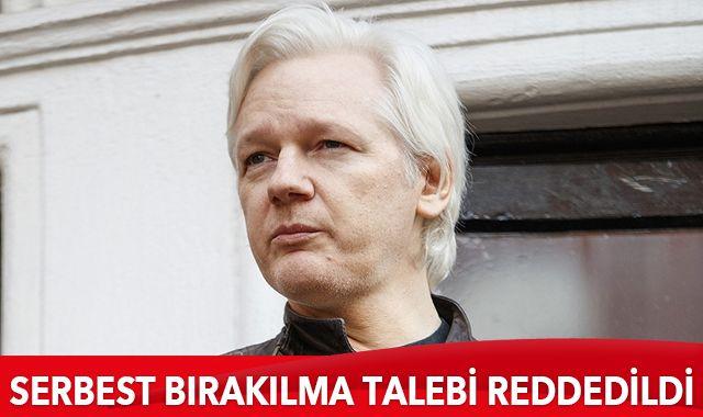 Assange'ın serbest bırakılma talebi reddedildi