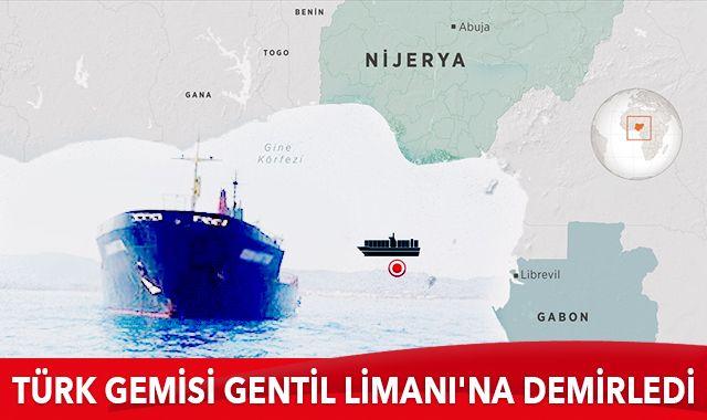 Bakan Karaismailoğlu: Saldırıya uğrayan gemimiz Gabon'un Gentil Limanı'na demirlendi
