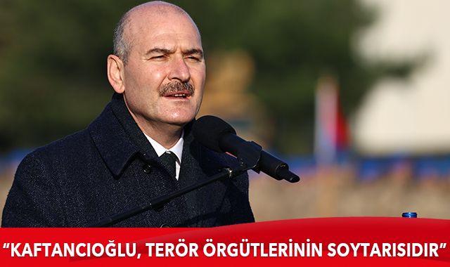 Bakan Soylu: Canan Kaftancıoğlu, terör örgütlerinin soytarısıdır