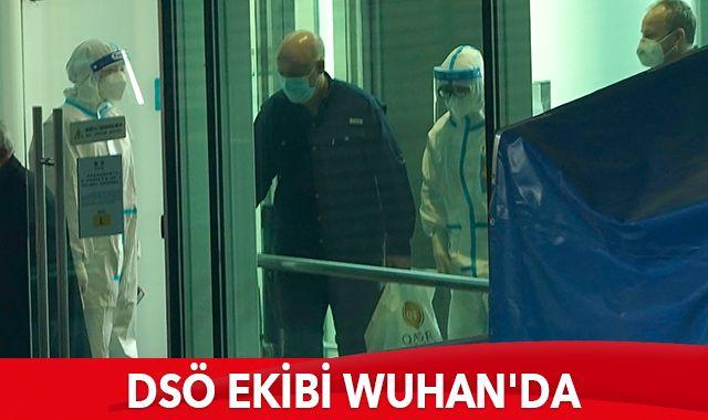 Covid-19'un kökenini araştıracak DSÖ ekibi Wuhan'da