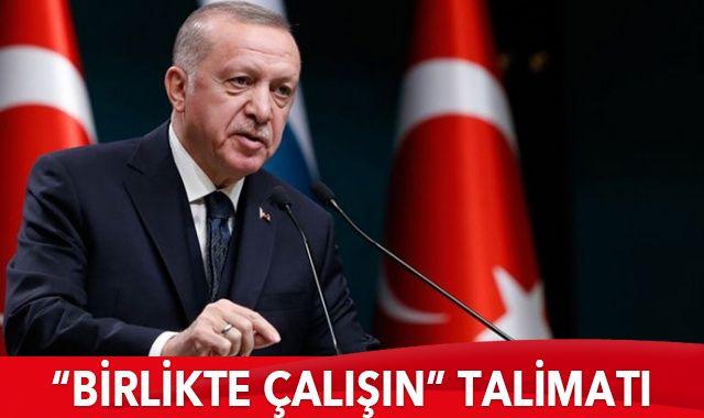 Cumhurbaşkanı Erdoğan'dan talimat: Grup ve Genel Merkez, yasalar için birlikte çalışın