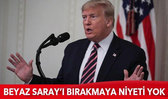 Donald Trump: Asla teslim olmayacağım
