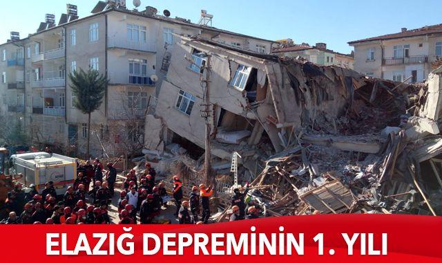 Elazığ depreminin 1. yılı: Yaralar sarılıyor, acılar unutulmuyor
