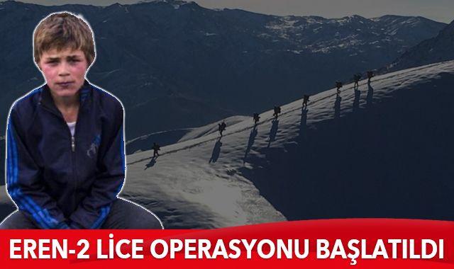 Eren-2 Lice Operasyonu başlatıldı