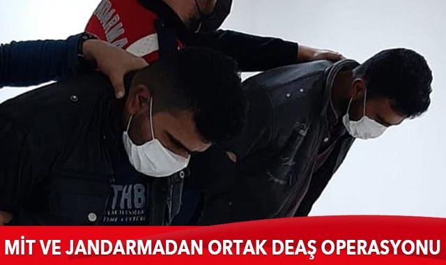 Eylem hazırlığındaki 2 DEAŞ'lı terörist yakalandı