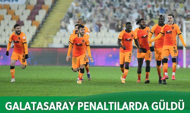 Galatasaray penaltılarda güldü