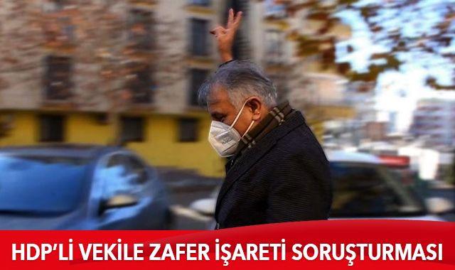 HDP'li vekilin provokatif hareketine soruşturma
