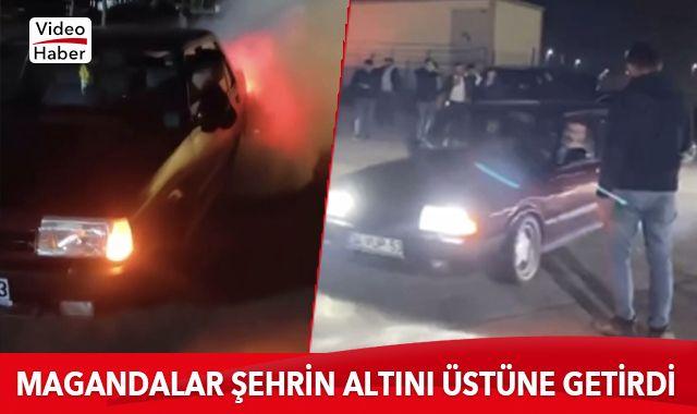 İstanbul trafiğinde yasağa rağmen asker uğurlama terörü