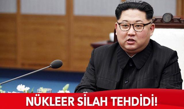 Kuzey Kore'den bir kez daha nükleer silah tehdidi!
