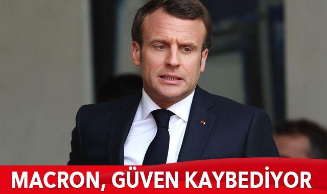 Macron, güven kaybediyor