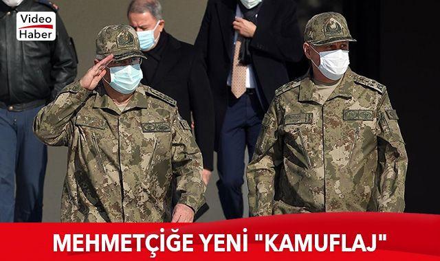 Mehmetçik için yeni tip 'kamuflaj' hazırlandı