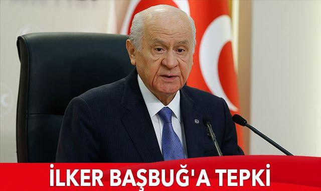 MHP Lideri Bahçeli'den İlker Başbuğ'a tepki