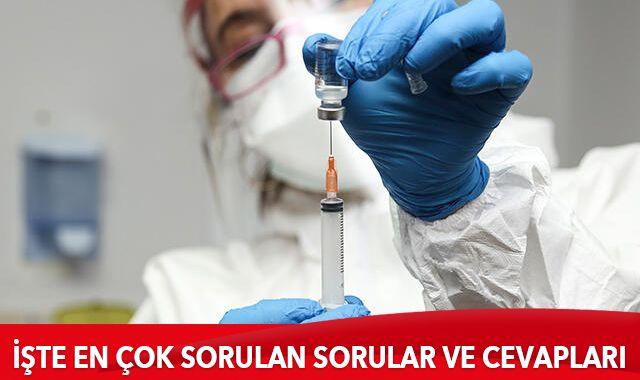 Sağlık Bakanlığı koronavirüs aşısıyla ilgili merak edilen 36 soruya cevap verdi