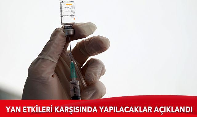 Sağlık Bakanlığı, Kovid-19 aşısının yan etkileri karşısında yapılacakları açıkladı