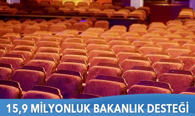 Sinema salonlarına 15,9 Milyonluk Bakanlık desteği