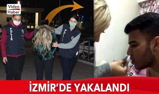 Skandal görüntülerde o da vardı... İzmir'de yakalandı!