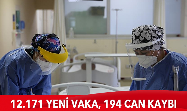 Son 24 saatte korona virüsten 194 kişi hayatını kaybetti