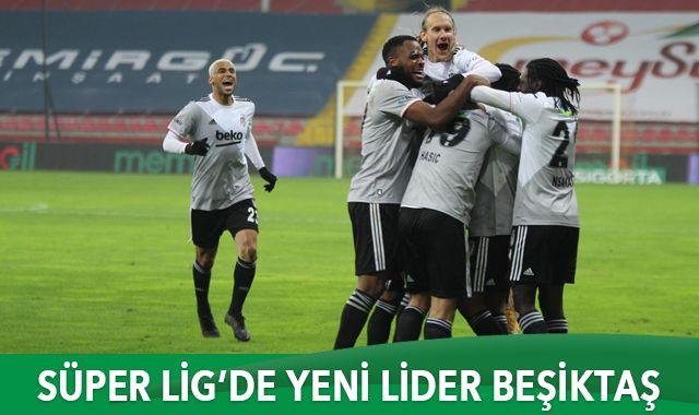 Süper Lig'de yeni lider Beşiktaş