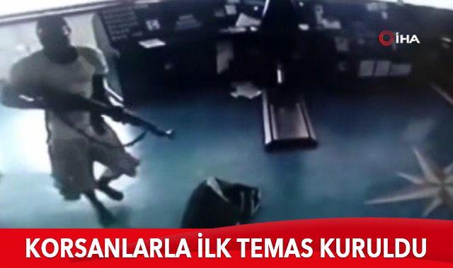 Türk denizcileri kaçıran korsanlarla irtibat kuruldu
