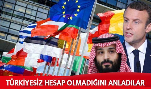 Türkiyesiz hesap olmadığını anladılar